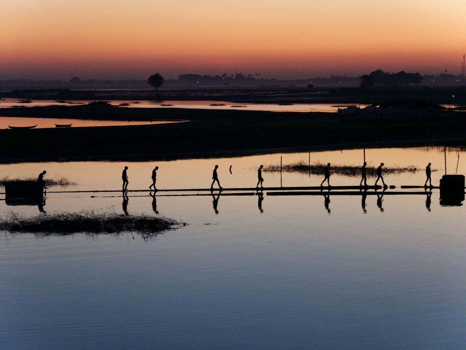 AMARAPURA : PONT  U - BEIN
