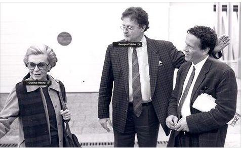 en 2005 Georges Fêche clairvoyant et 1995 avec Guilleta Masina à l'occasion du CINEMED