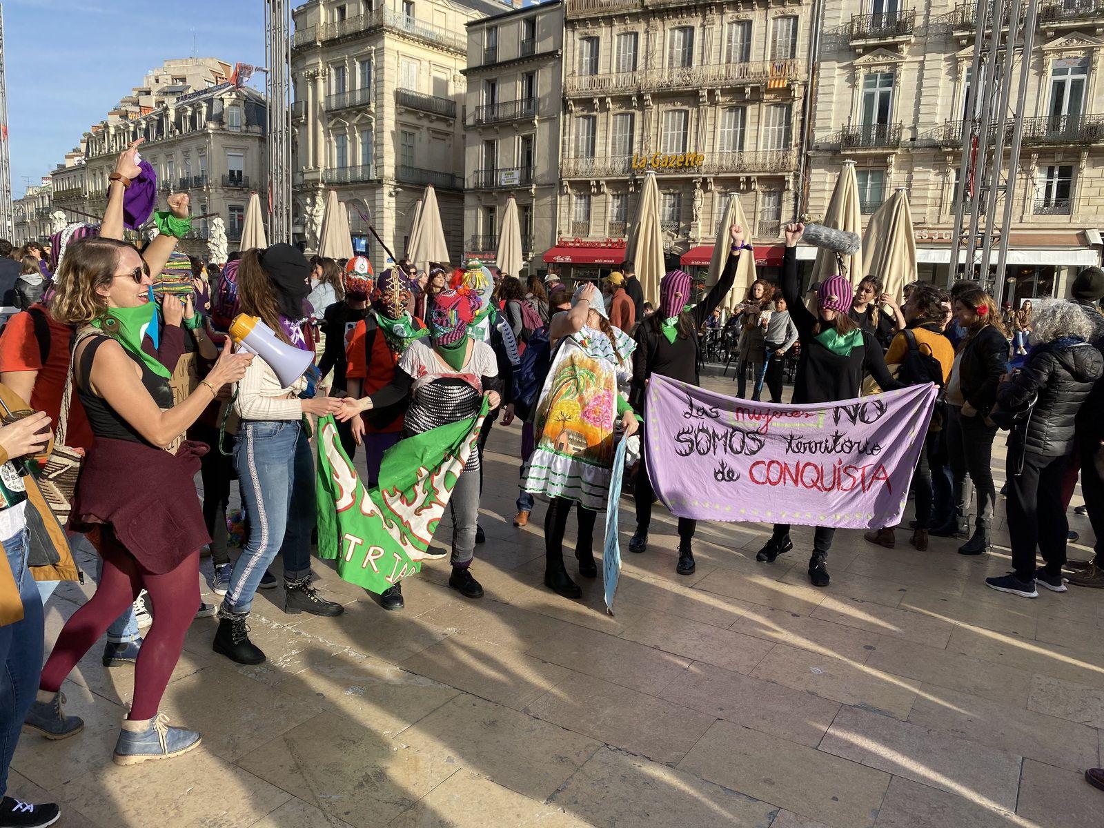 """8 mars 2020 Montpellier """"Journée Internationale des droits de la femme"""" #NousSOmmes Solidaire"""