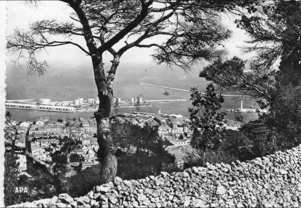 Sète, carte postale ancienne ; source : annuaire mairie