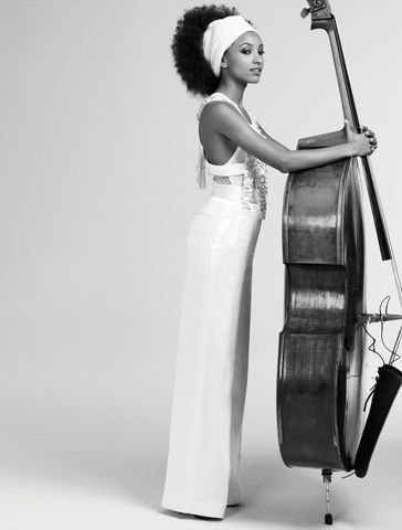 afternoonswithameena:  Esperanza Spalding is featured in the June 2012 issue of LA Times Magazine. Werk.