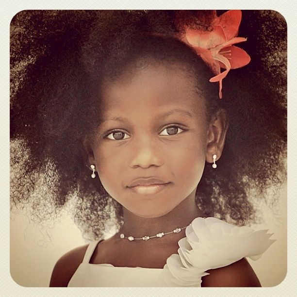 naturallymeashley:  My Madi Pooh Pooh rocking the fro…had to post!!