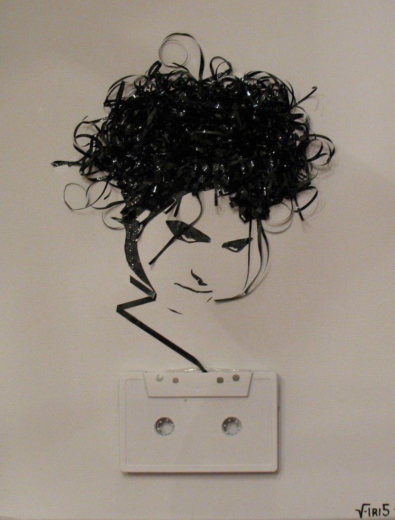 Awesome Hair Tape!  twenthings:  by Erika Iris Simmons. Striking.