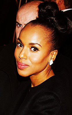 Kerry Washington attends the Django Unchained Paris Premiere at Le Grand Rex on January 7, 2013 in Paris, France
