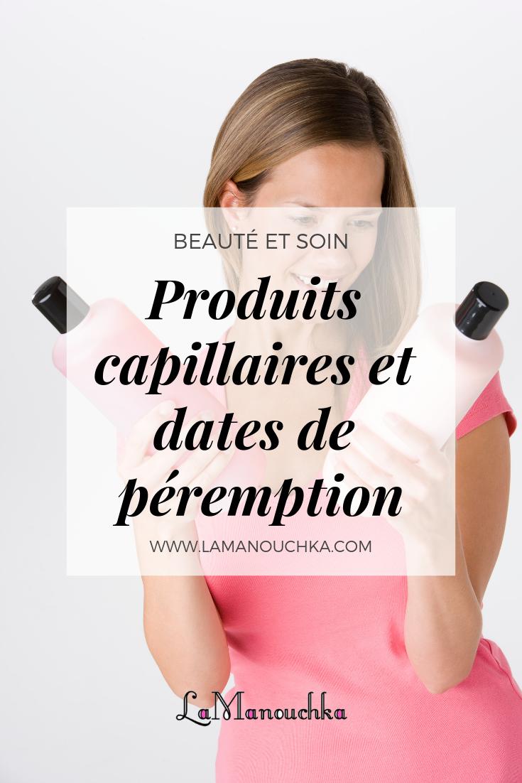 Conservation des produits capillaires et dates de péremption