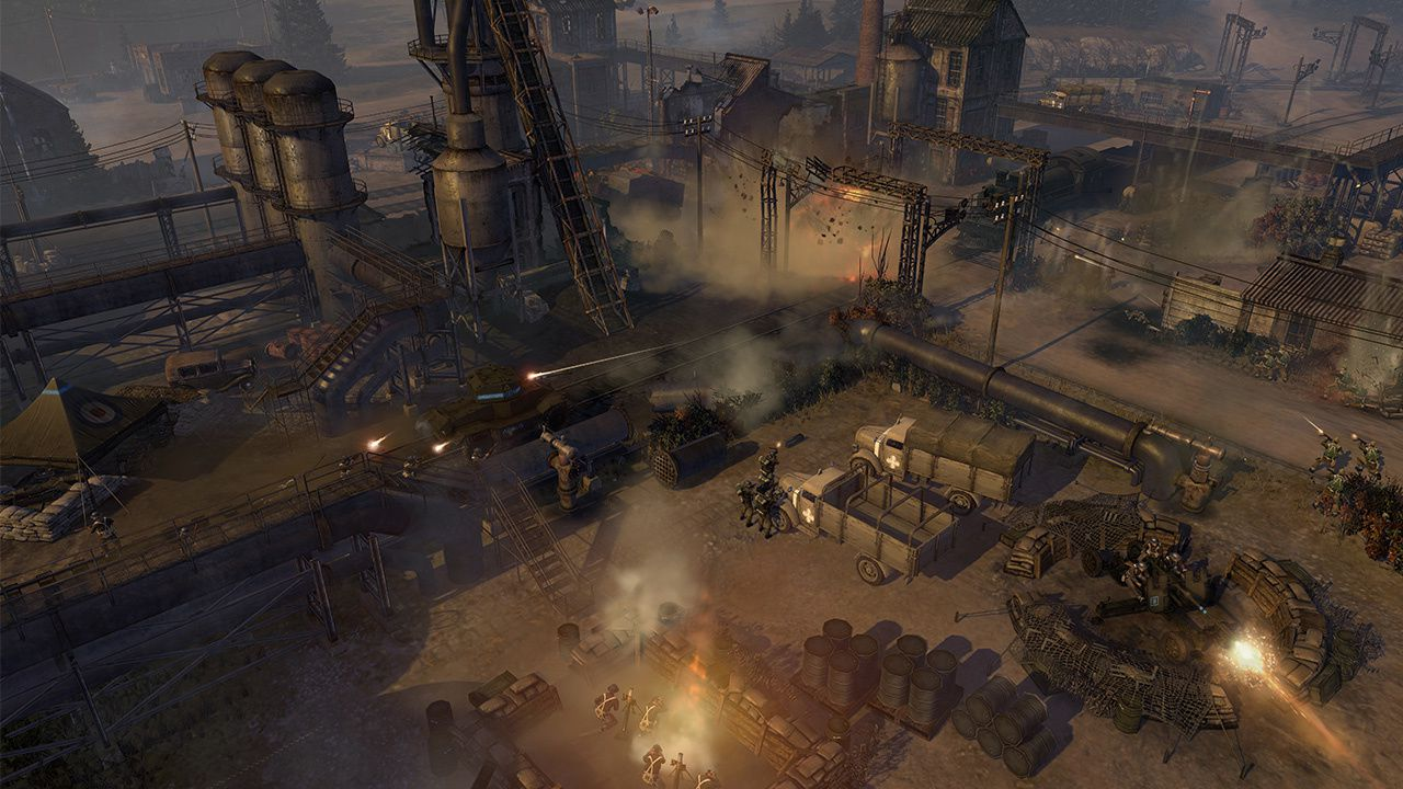 Company of Heroes 2: The British Forces : tester le !