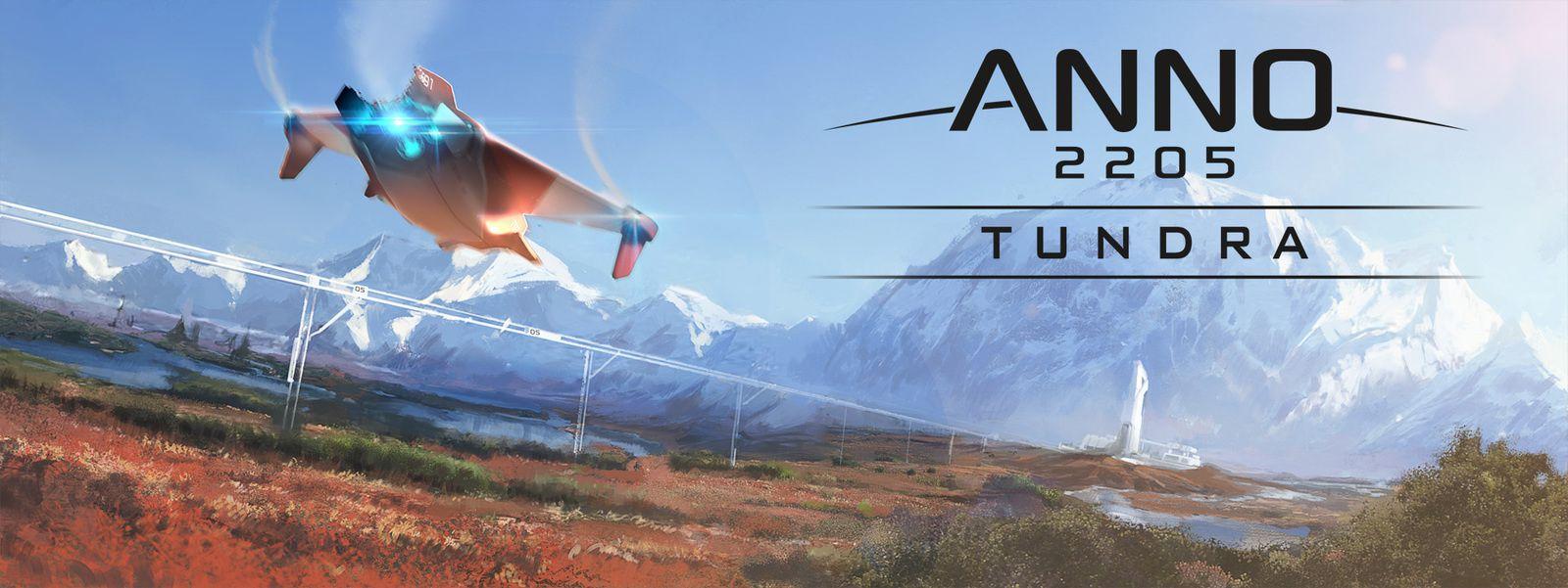 Anno 2205: Le DLC Tundra est disponible