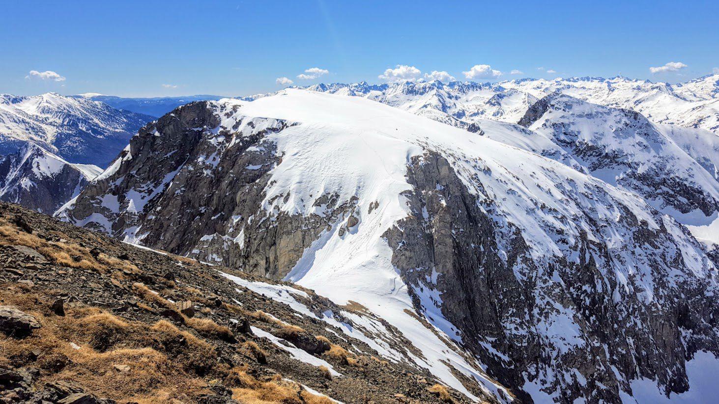 Col de Faustin, Esquino d'Azé (Petit Valier)