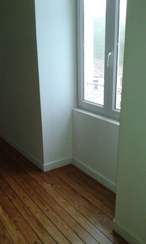 Les peinture finales ont pu se faire ensuite avec protection au sol bien entendu..