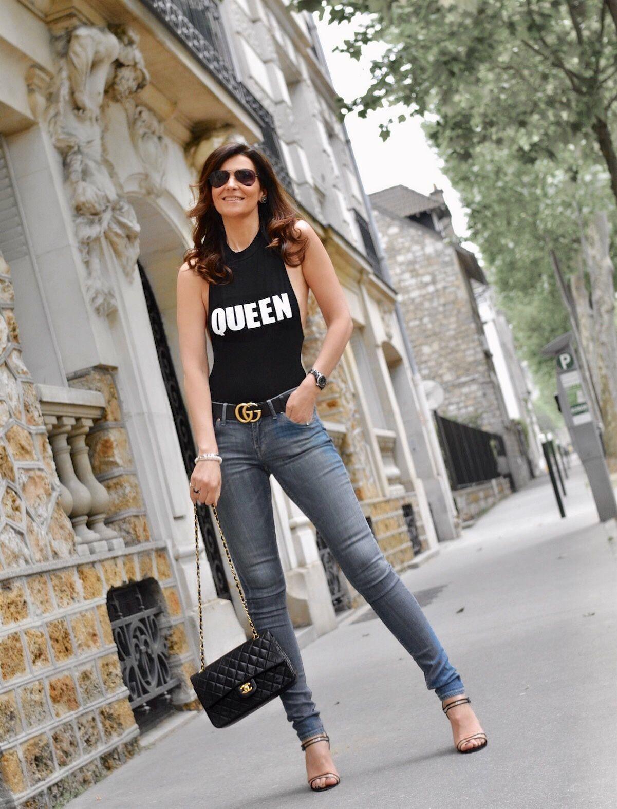 Une tenue casual et féminine en body