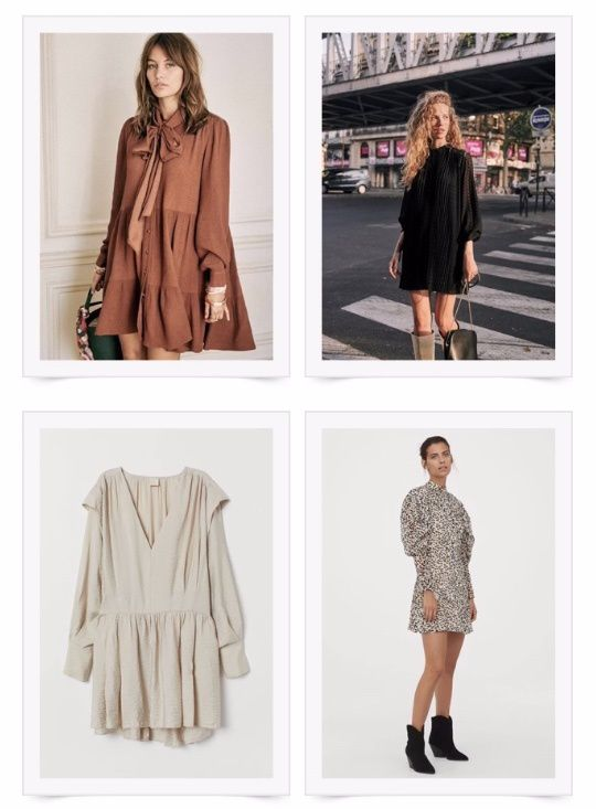 My Fall Dresses selection