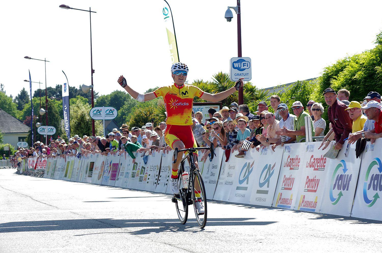 Trophée Centre Morbihan: Evenepoel, la star de demain
