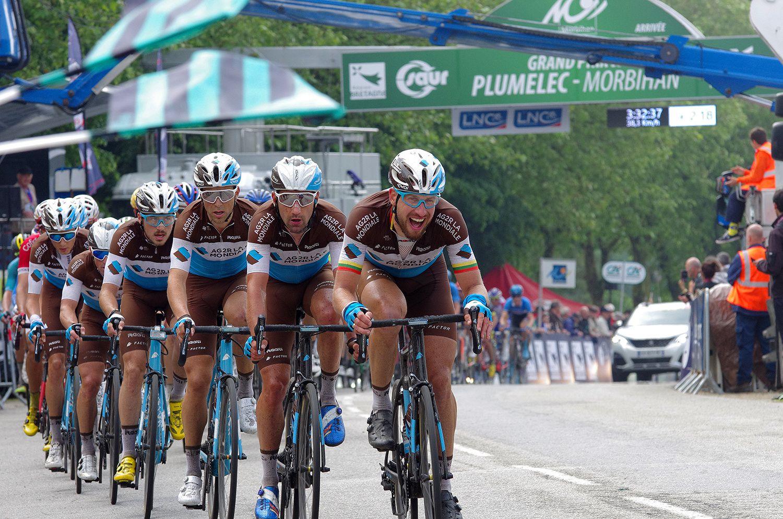Grand Prix de Plumelec-Morbihan, la course
