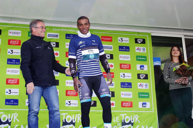 Le Tour de Bretagne arrivait à Guégon