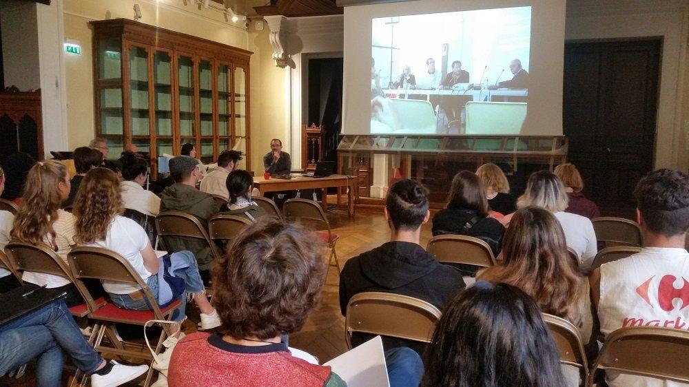 La première session qui a eu lieu mercredi 9 octobre et jeudi 10 octobre 2019 s'est déroulée au Muséum d'histoire naturelle de Marseille