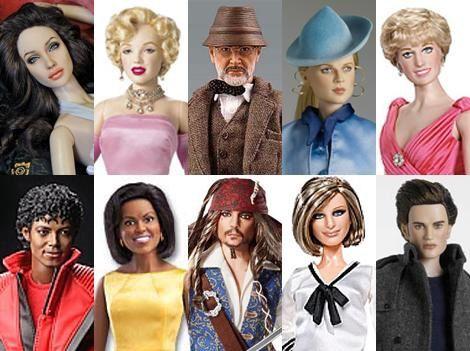 Barbies célébrités diverses