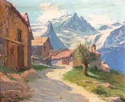 Un petit hameau de montagne