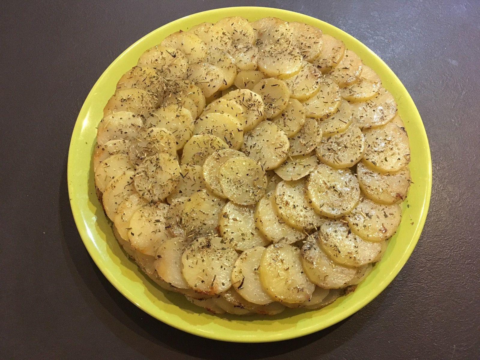 Gâteau de pommes de terre léger