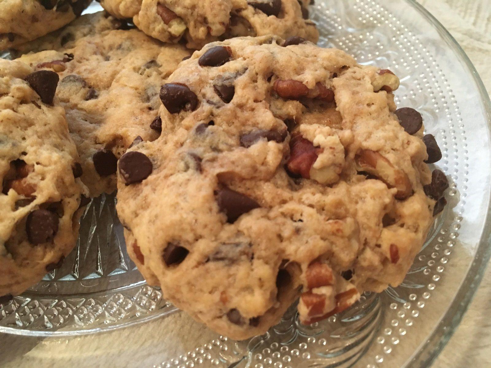 Cookies au chocolat et aux noix de pécan