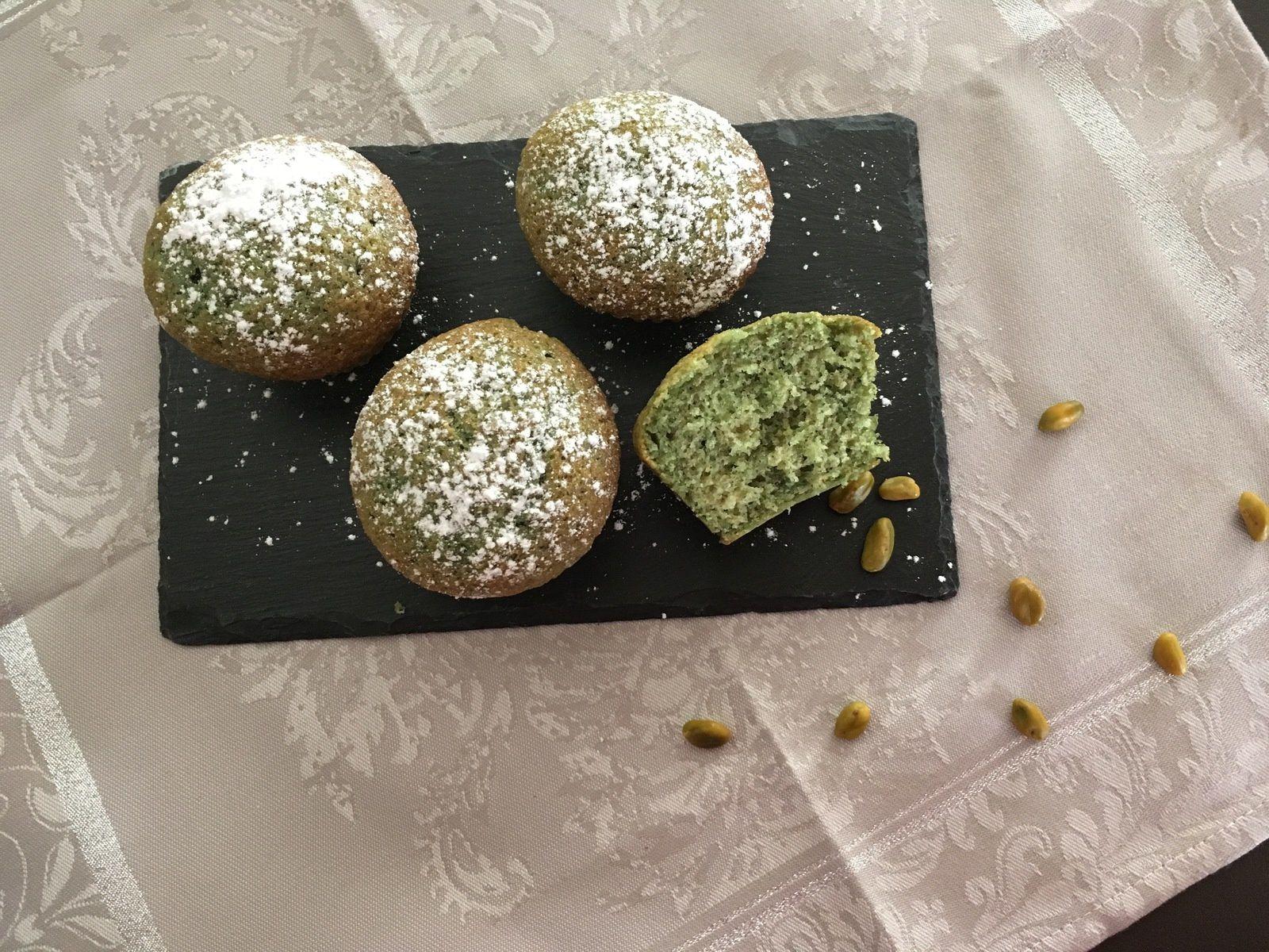 Petits gâteaux à la pistache