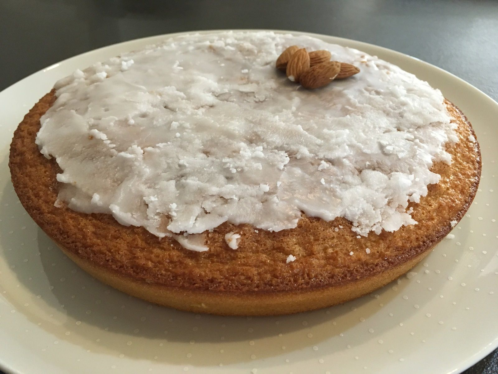 Gâteau fondant aux amandes (ou l'amandier)