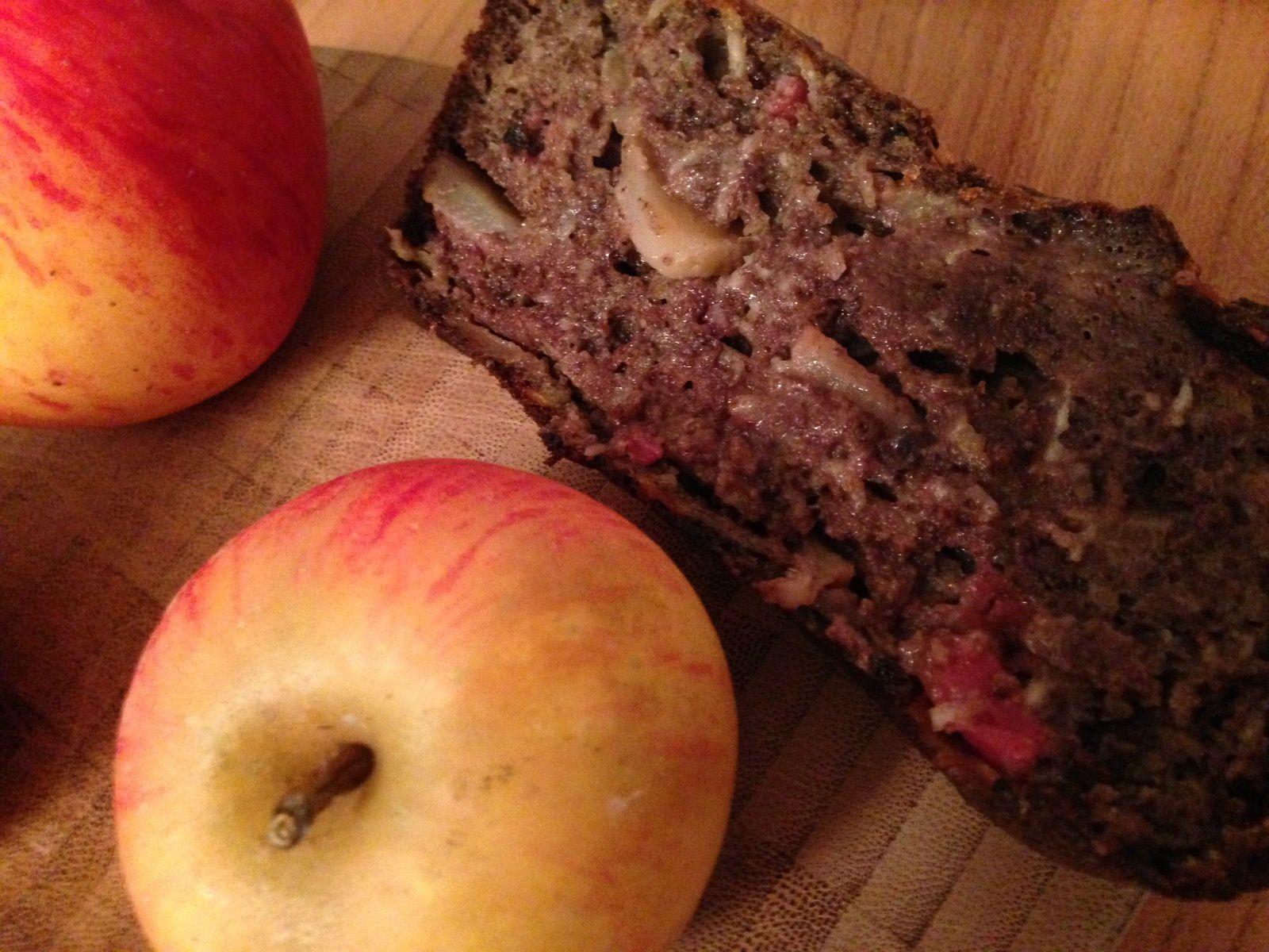 Cake au boudin noir et aux pommes