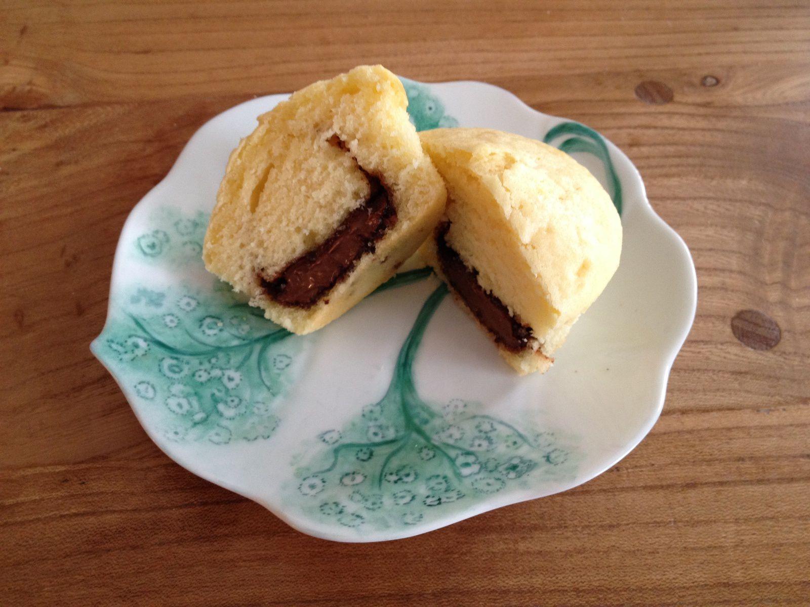 Muffins au coeur Nutella