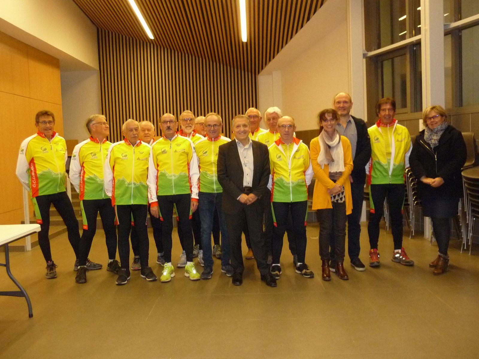 Cyclo club de Lempdes : une nouvelle tenue
