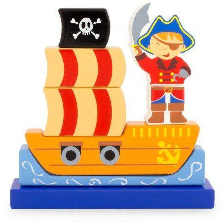 Pirates, puzzle magnétique vertical - Ulysse