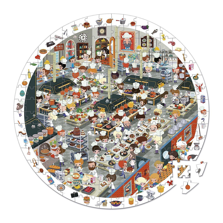 Coup De Feu En Cuisine Puzzle D Observation Janod Aux