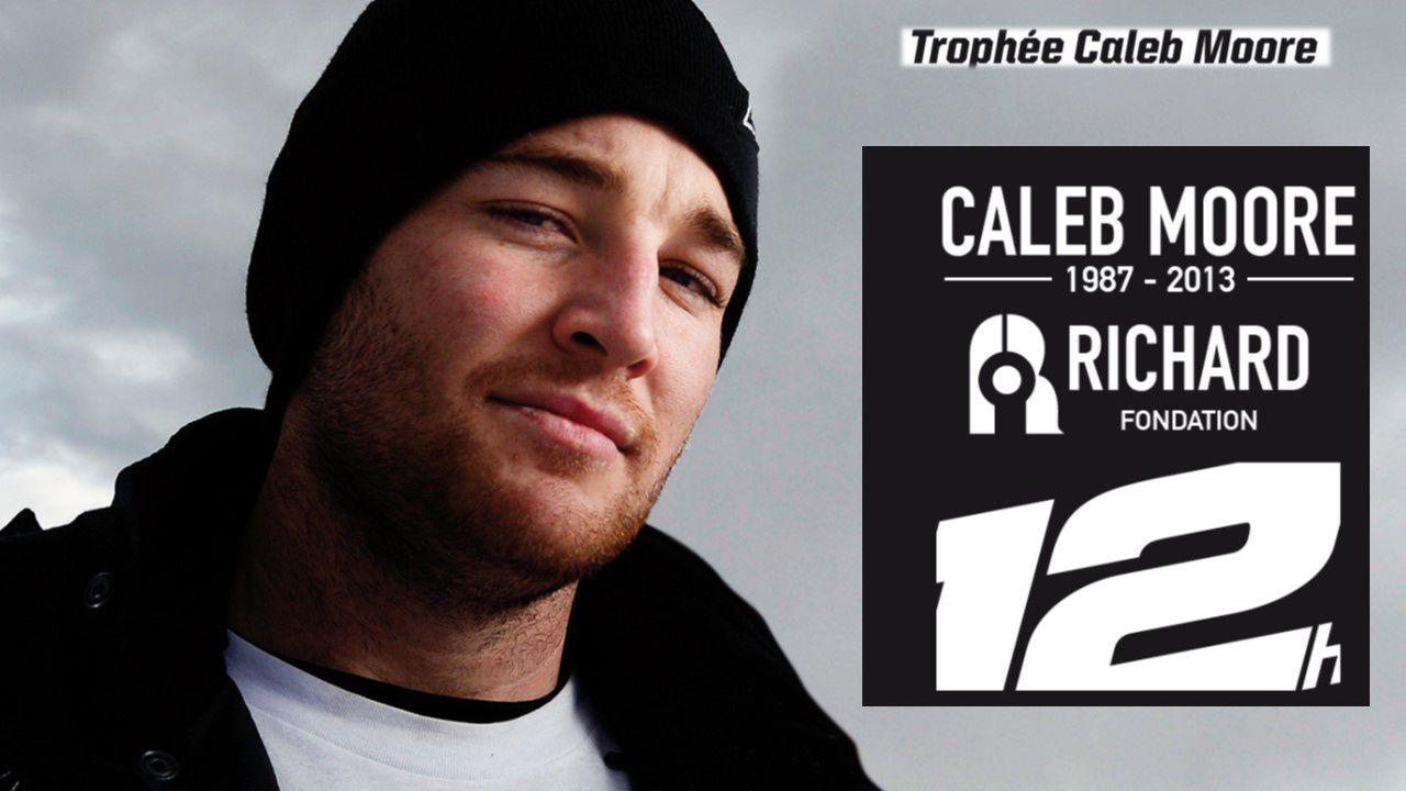 Trophée Caleb Moore 2014