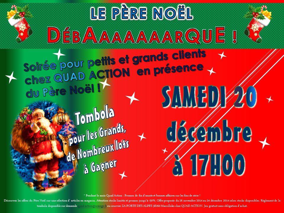 Soirée Père Noël pour les petits et Tombola pour les grands !