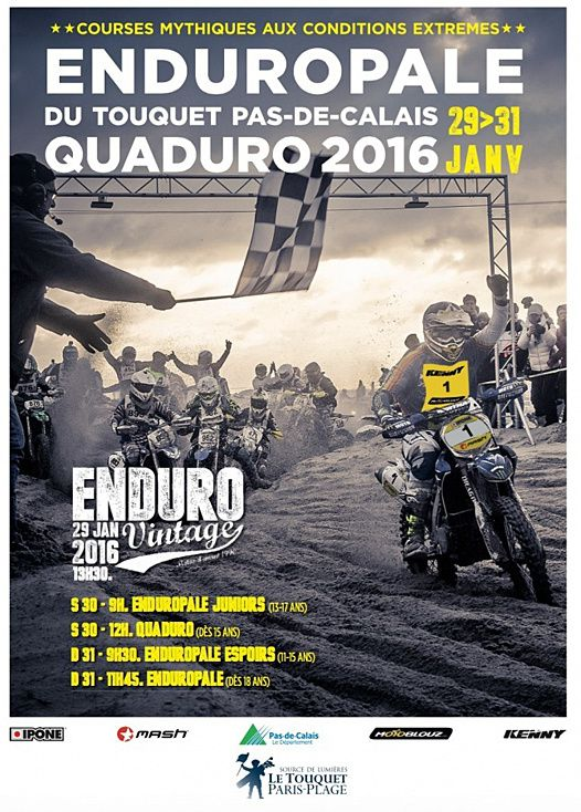 Enduro du touquet 2016