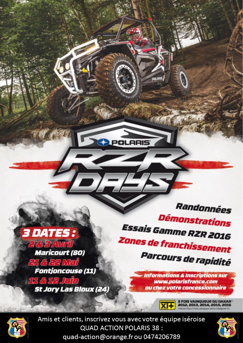 Info Importante ! Rassemblement RZR Polaris !