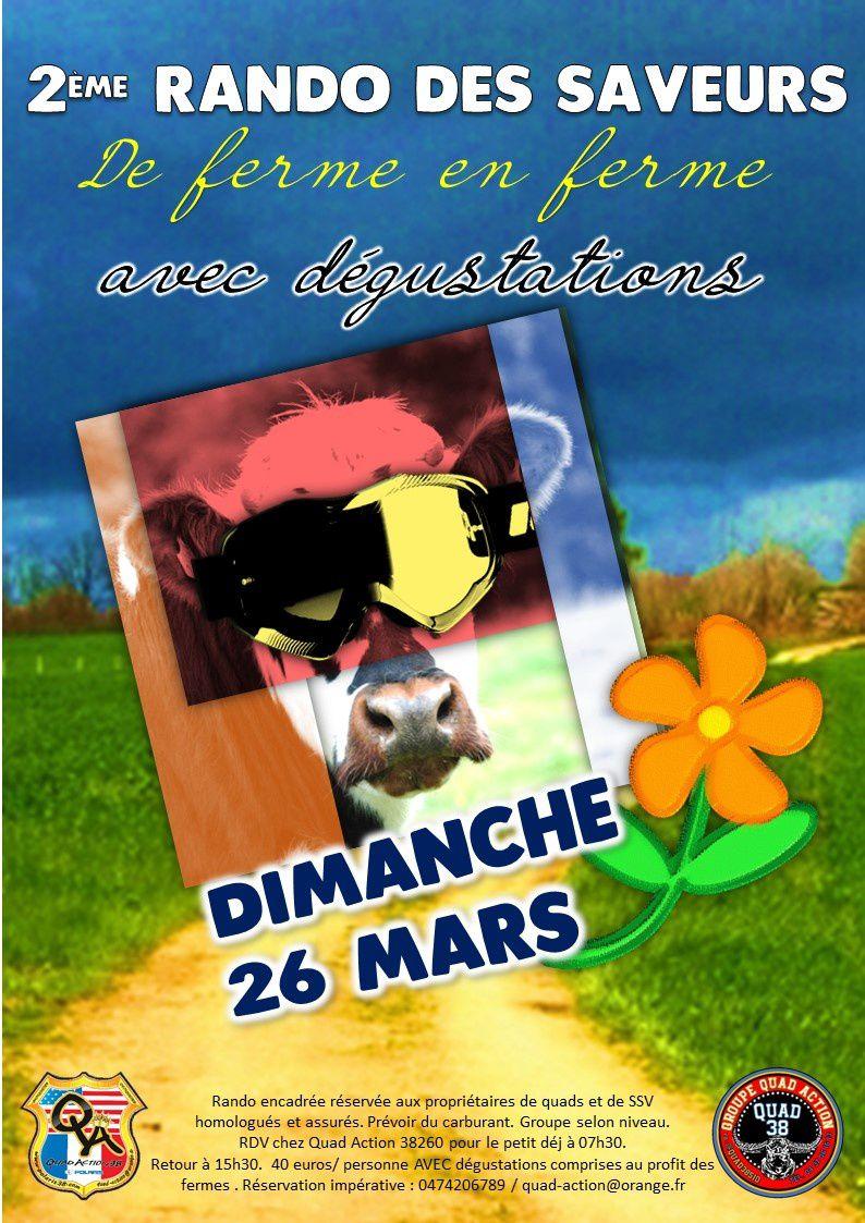 Rando des Saveurs 2 ème édition