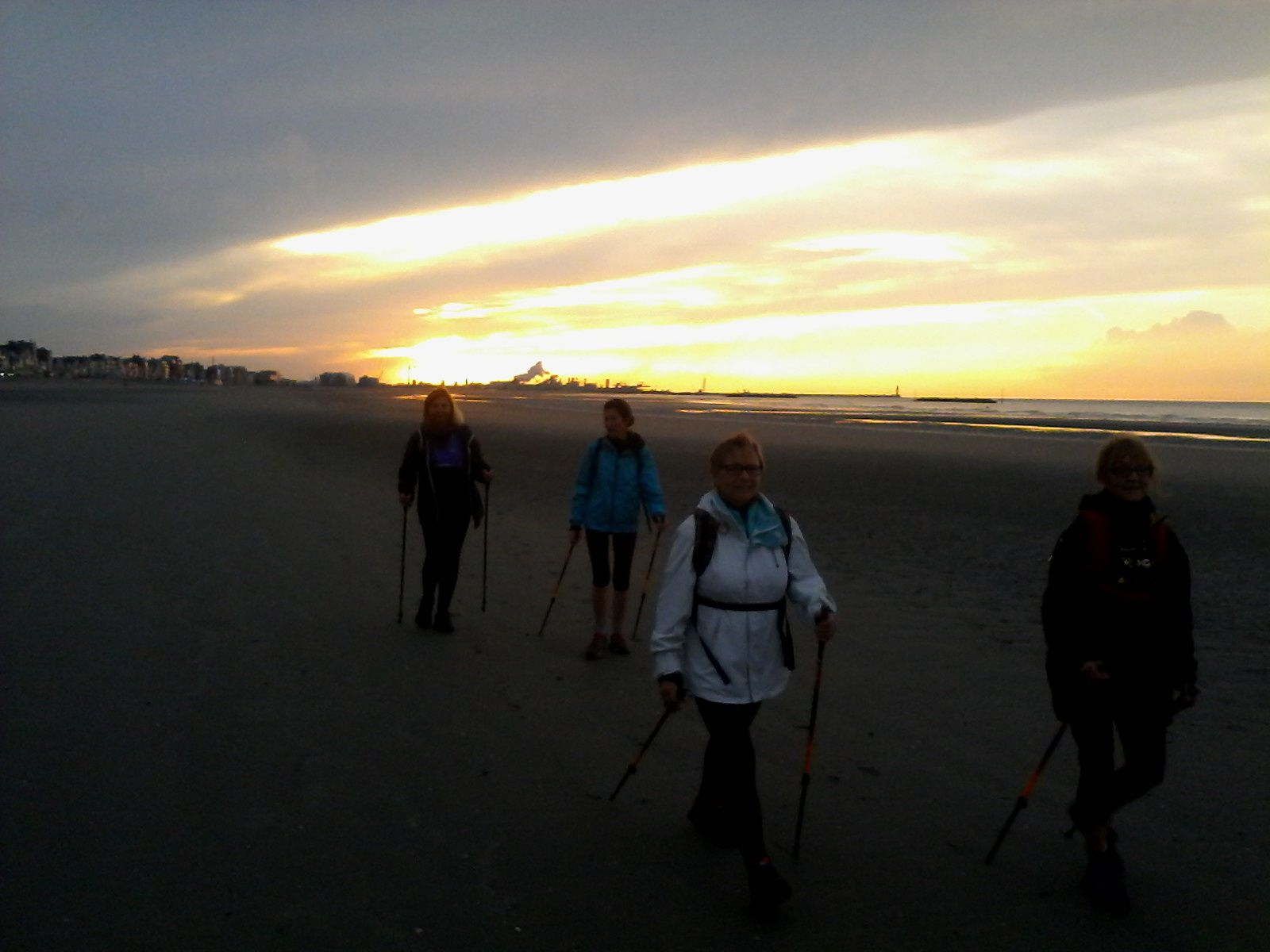 Sortie du mercredi 8 octobre à la plage