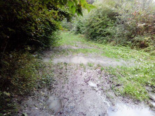 Dans la boue au Puythouck