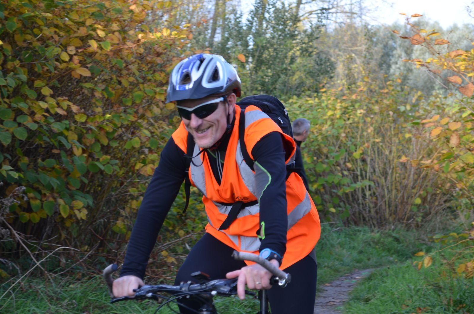 Franck, un des vélos ouvreurs