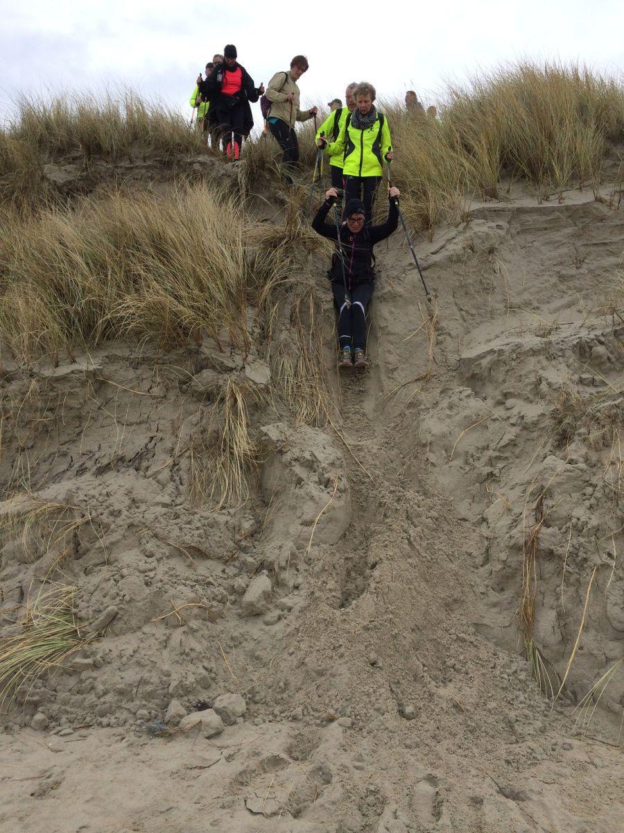 Sortie longue dans les dunes de Flandres le dimanche 5 février