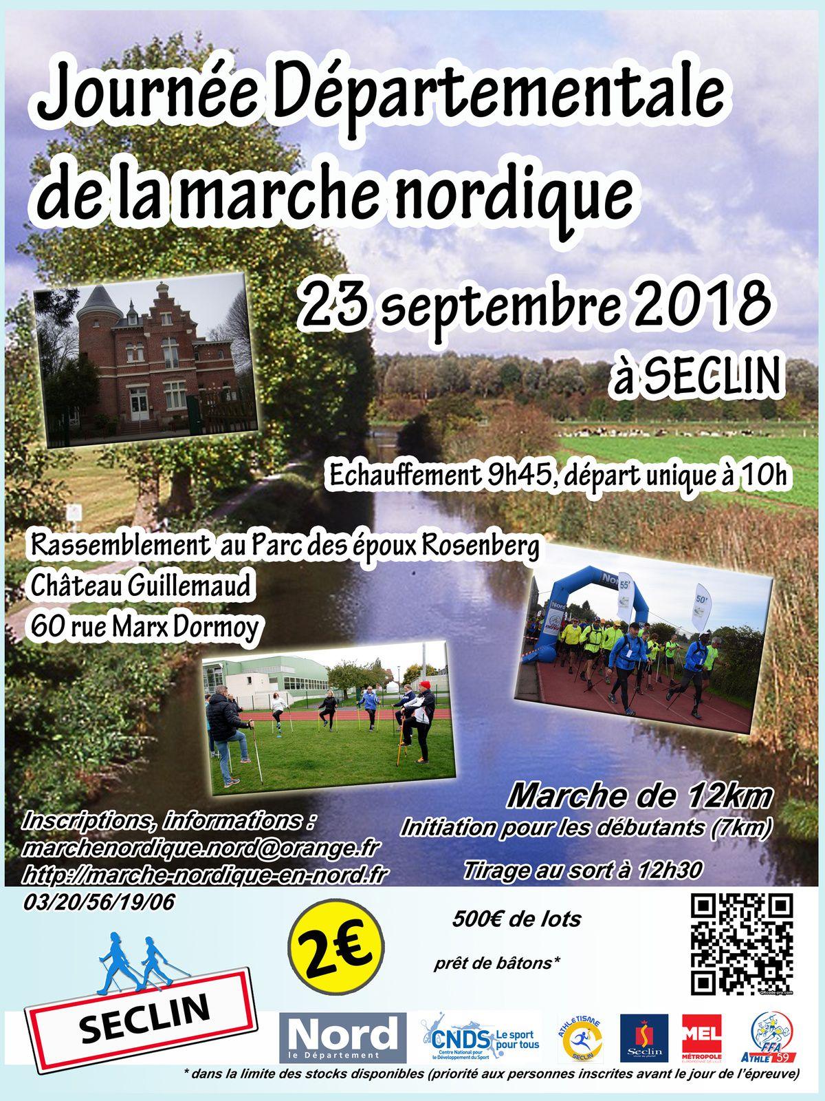 Journée départementale de la MN à Seclin le dimanche 23 septembre