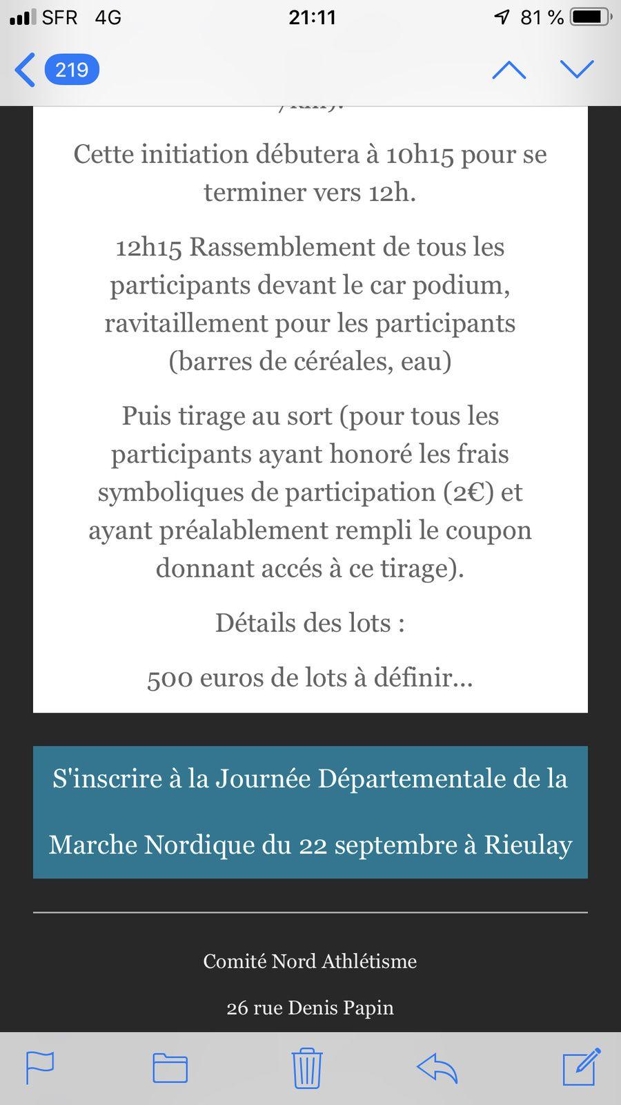 MN à Rieulay le dimanche 22 septembre