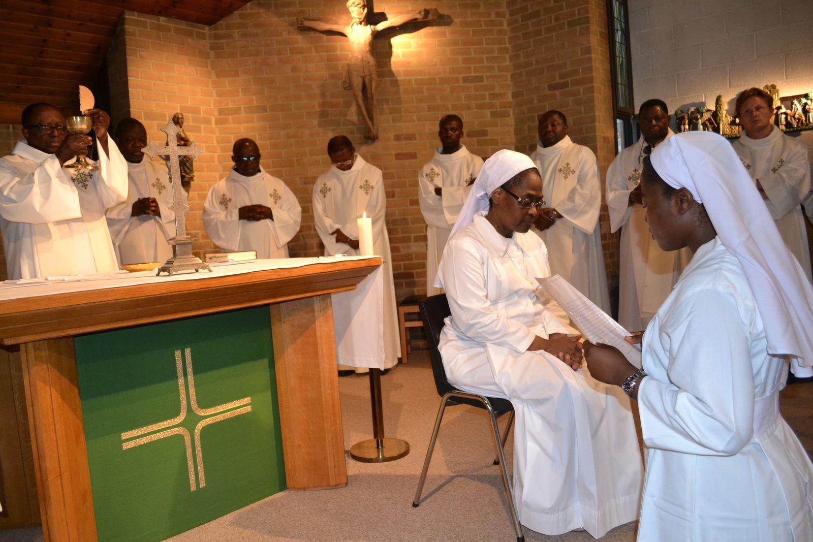 SOUHAITS D'UN PRÊTRE SÉCULIER AUX RELIGIEUSES FRANCISCAINES DE TSHUMBE