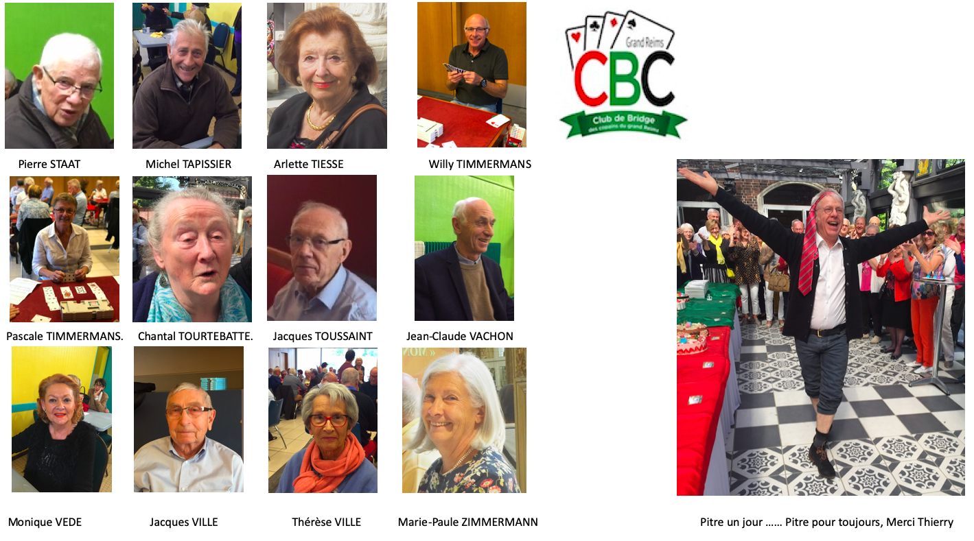 Le Trombinoscope du C.B.C. Grand Reims : 2019-2020