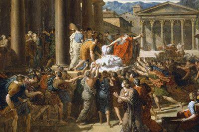 Elegía de Marco Antonio en el funeral público de Julio Cesar