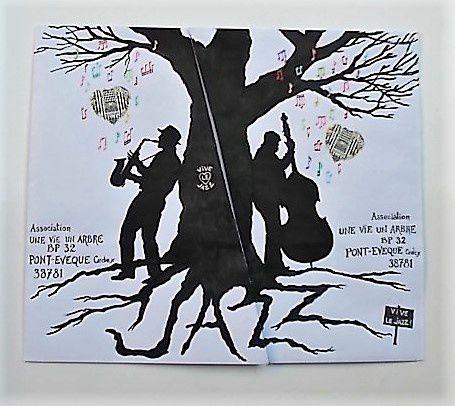 Vive le jazz ! Puzzle postal 1 et 2