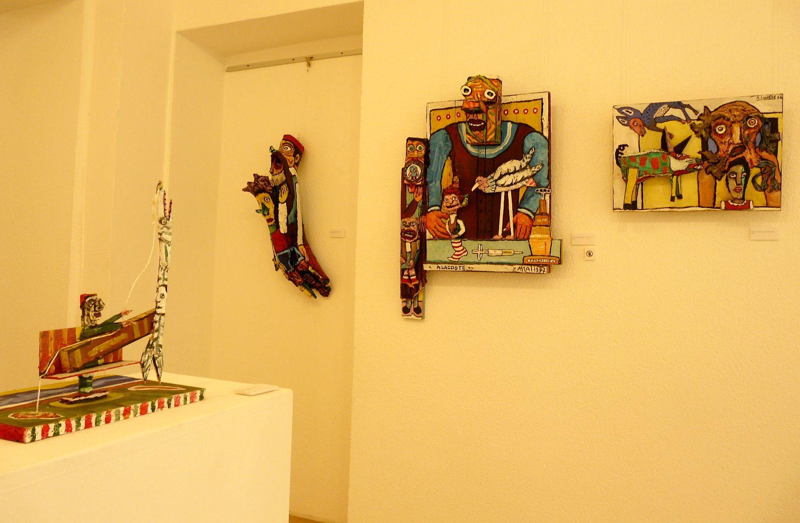 Alain LACOSTE au Musée de La Création Franche