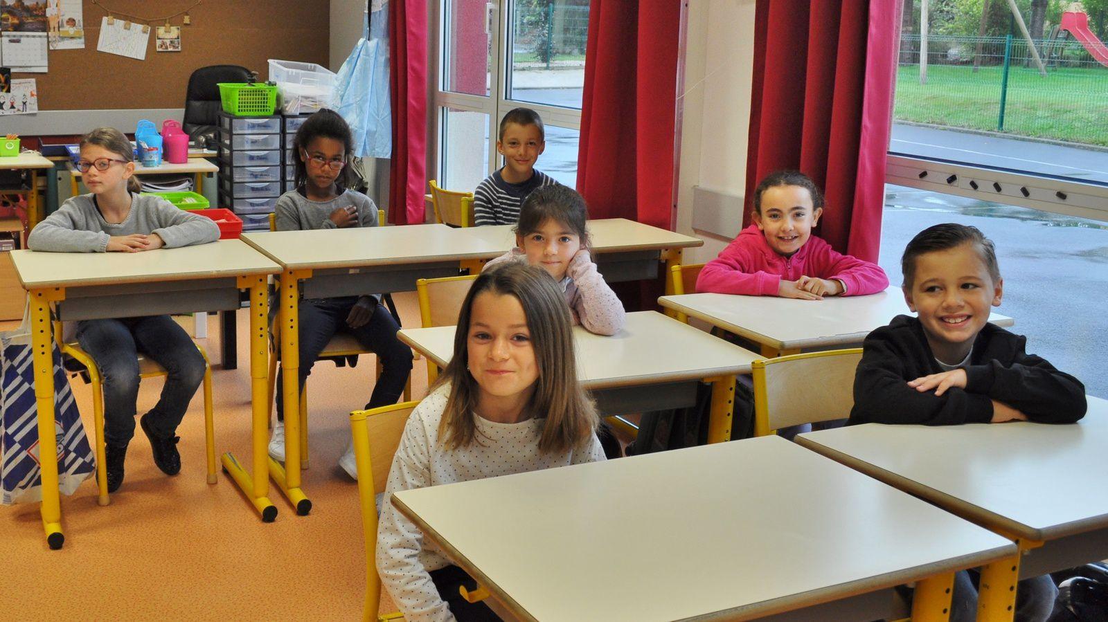 Classe de Barbara : CE1 et CE2
