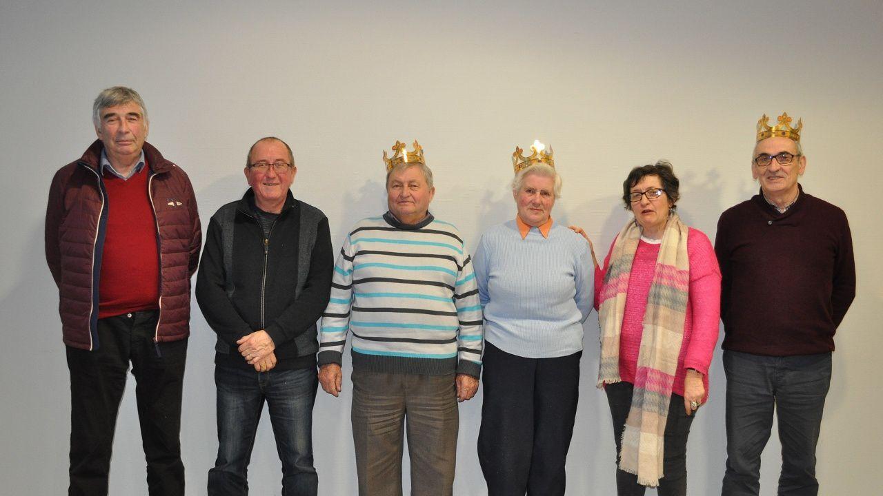 Galette des rois au club des aînés