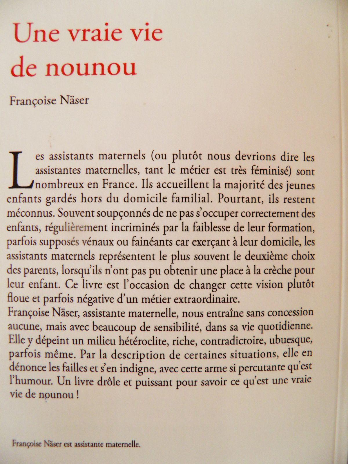 Lectures de Nounou