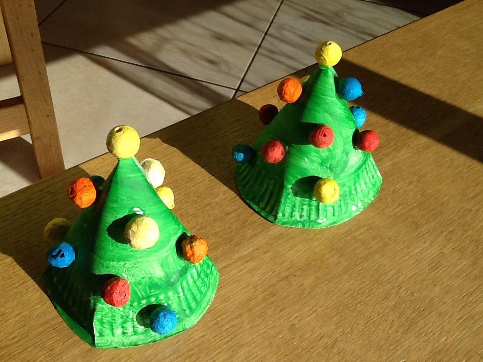 Nos petits sapins déco de Noël 15 🎄🎄